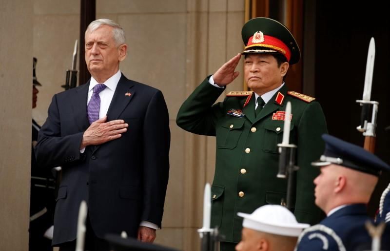 Vietnam wins U.S. defense pledges as tension with China grows