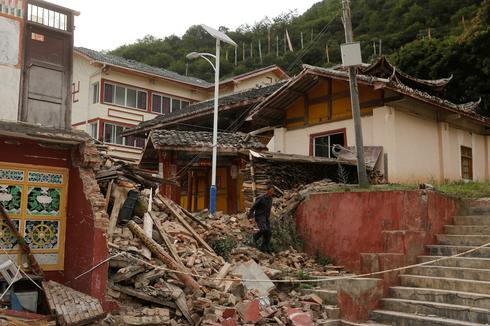 Earthquake strikes China's remote Sichuan province