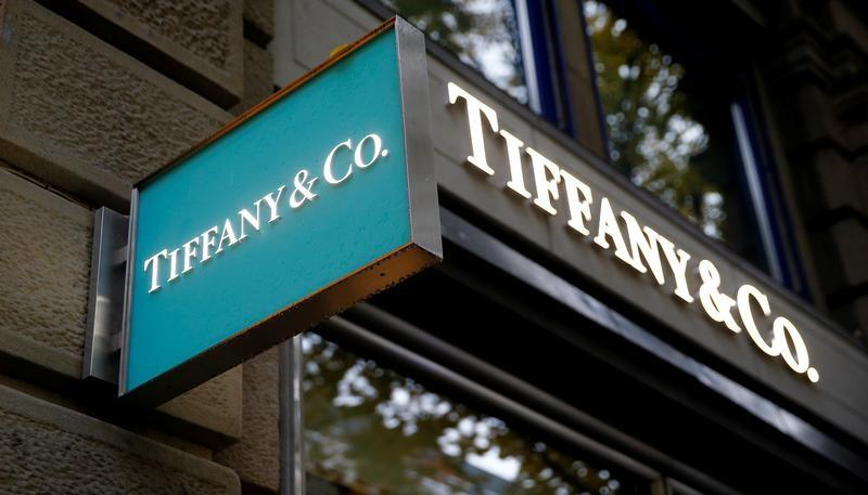 The Logo Of U S Jeweller Tiffany Co Is Seen At A Bahnhofstrasse Ping Street In Zurich Switzerland October 26 2018