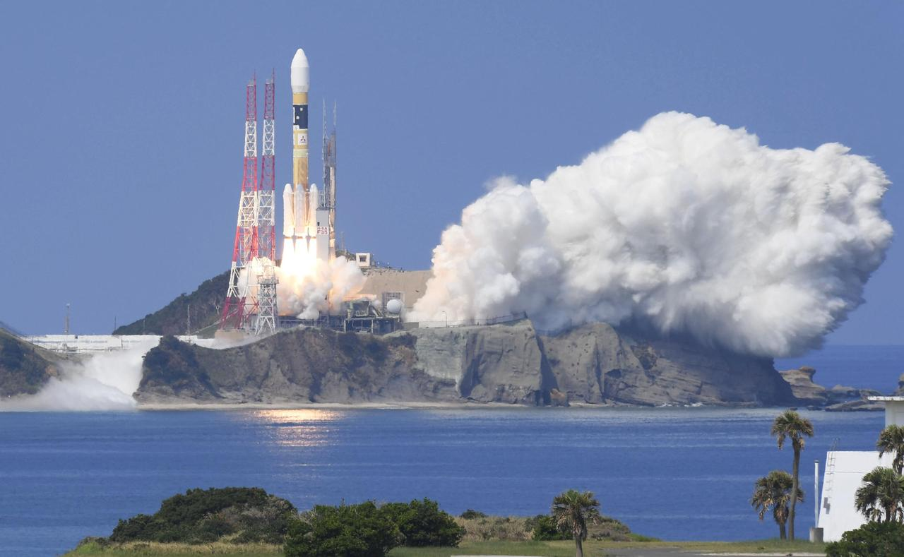 Japan Launches Satellite For Advanced GPS Operation - Satellite image