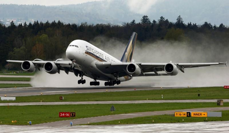 First Airbus A380 parked amid search for new operator