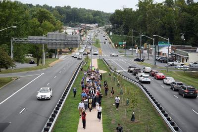 March from Charlottesville to Washington