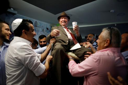 Holocaust survivor celebrates bar mitzvah