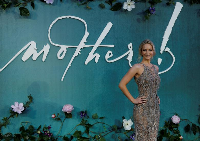 Jennifer Lawrence laughs off sharply divided mother! reviews