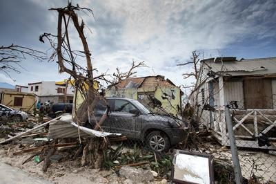 In the path of Hurricane Irma