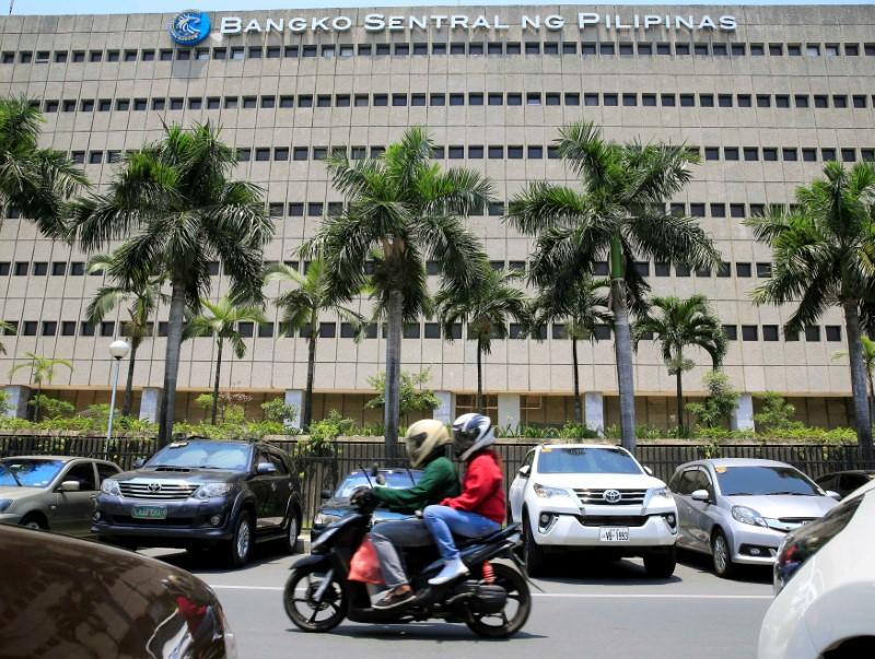 Philippine Central Bank Stands Pat On Rates As Inflation