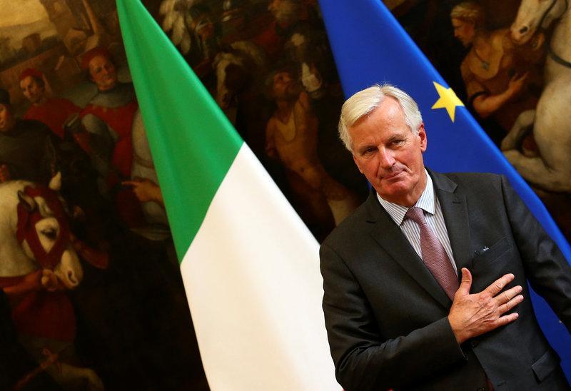 Resultado de imagen de Speech by Michel Barnier  Italian Parliament