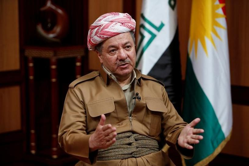 Kurds ready to pay any price for freedom, Barzani says, sticking by independence vote