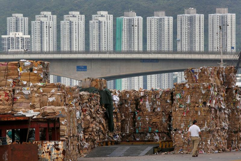 China ban on waste imports leads to piles of paper abroad