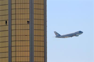 Trump visits Las Vegas