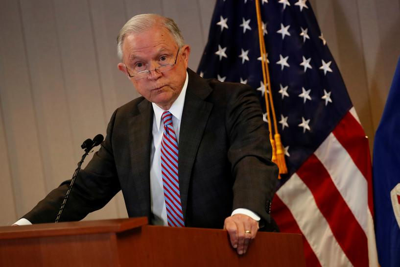 Four U.S. 'sanctuary cities' may be violating law: U.S. Attorney General Sessions