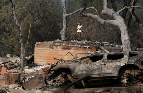 California's scorched landscape