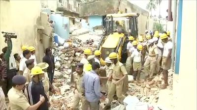 Bengaluru building collapse