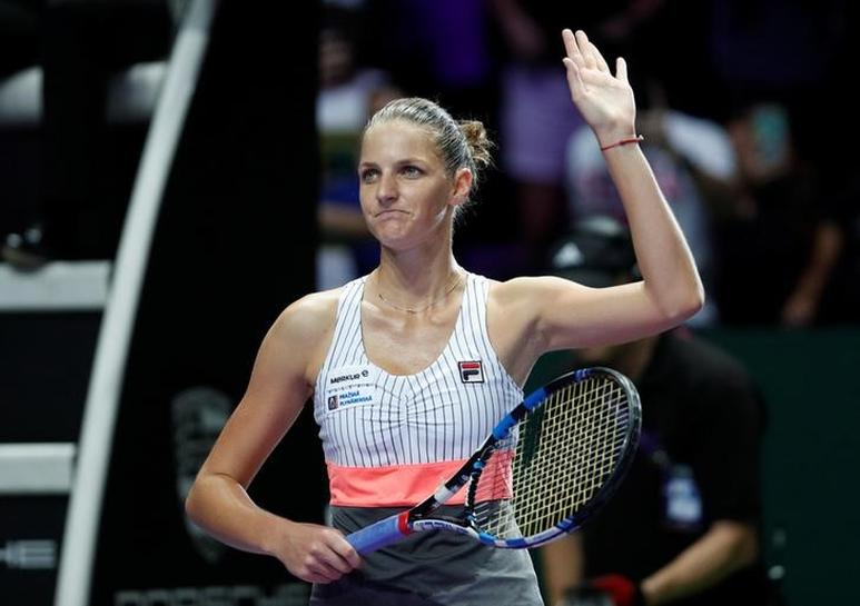Ruthless Pliskova eases past Williams in Singapore opener