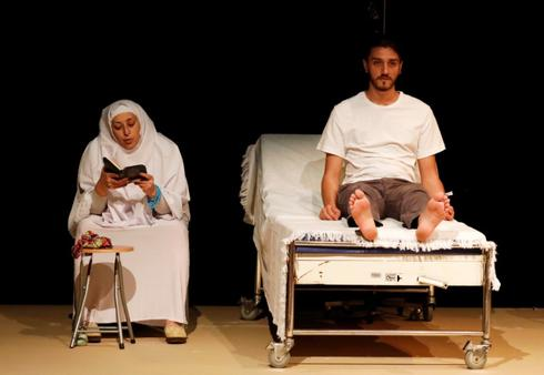 In Beirut, play about Syria's war gets as close to home as it can