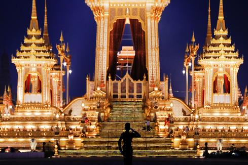 Royal cremation for Thai king