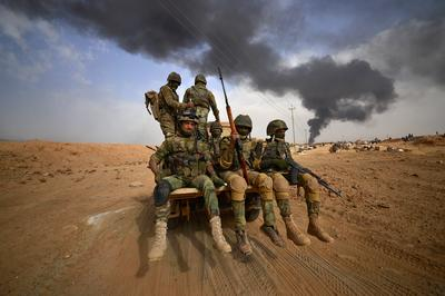 Iraqi forces close in on Islamic State
