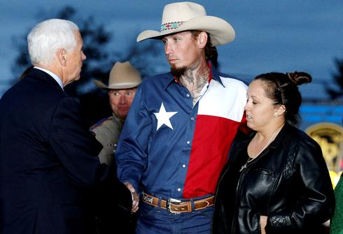 Pence pays tribute in Texas