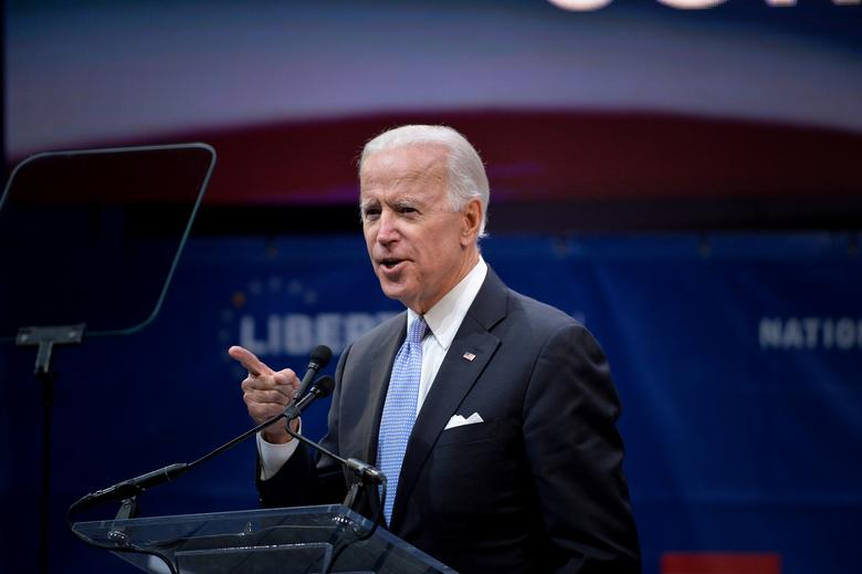Joe Biden Tells Georgia Voters He Wants to End Political Division and 'Once More Become One Nation Under God'