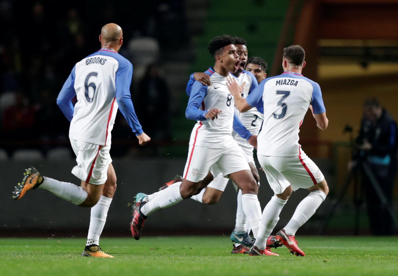 096dc7238 Teenager McKennie scores debut goal as U.S. hold Portugal - Reuters