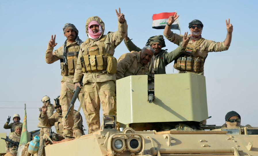 Iraqi forces recapture last Islamic State-held town - Reuters