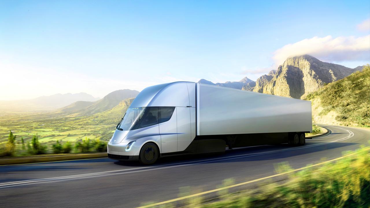 JB Hunt Wal Mart Climb Aboard Teslas Electric Truck