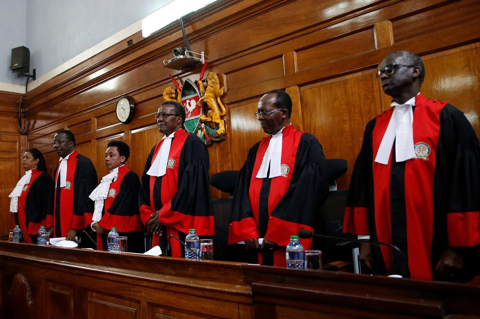 Image result for Kenya's Supreme Court upholds repeat presidential vote