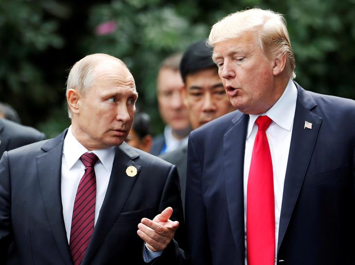 Trump and Putin speak for an hour about Syria, Ukraine, North Korea