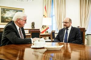 German President Frank-Walter Steinmeier meets Social Democratic Party...