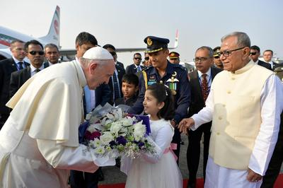 Pope visits Myanmar and Bangladesh