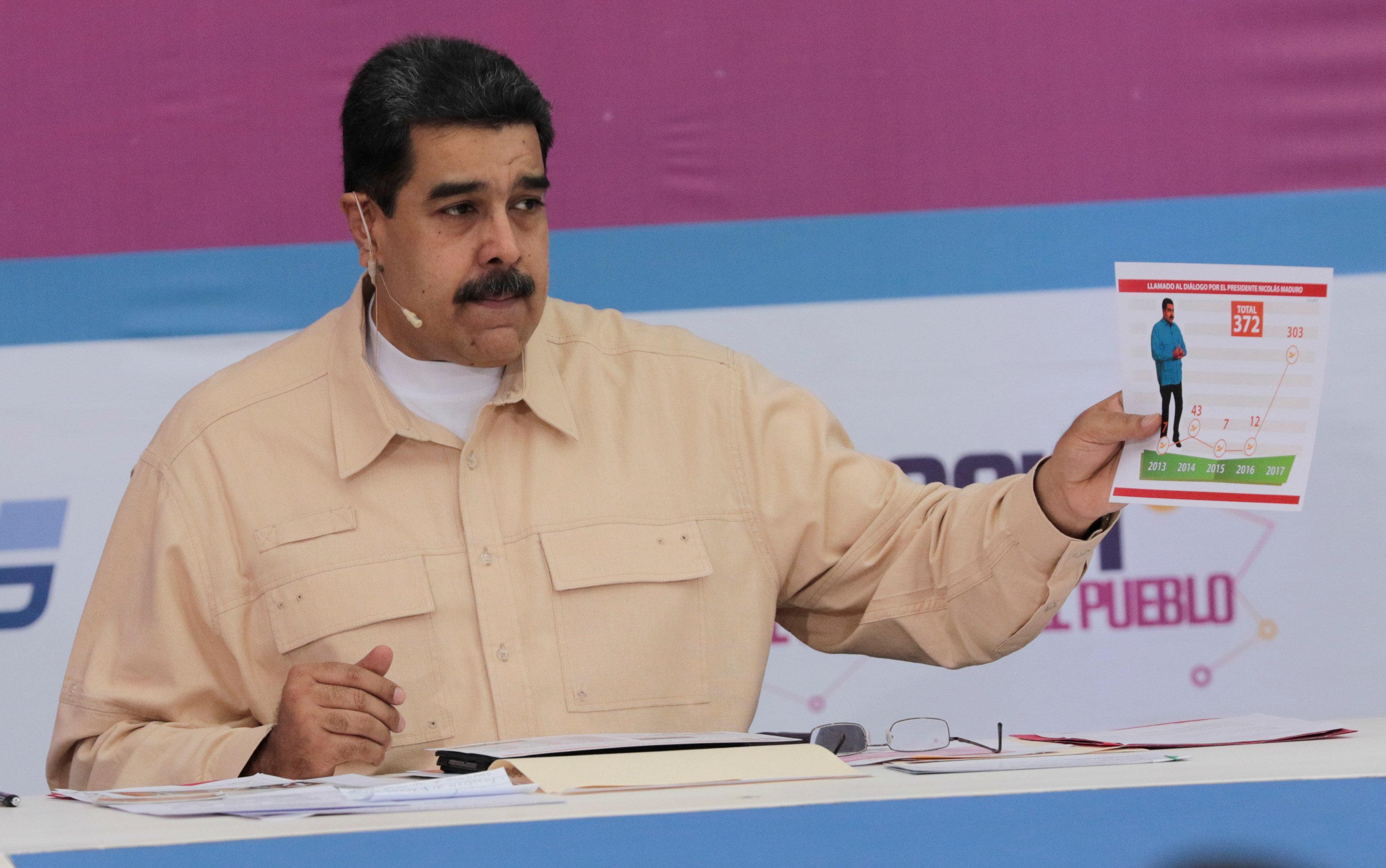 Maduro announces Petro