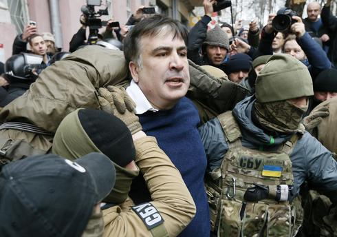 Supporters free ex-Georgian leader from Ukrainian police