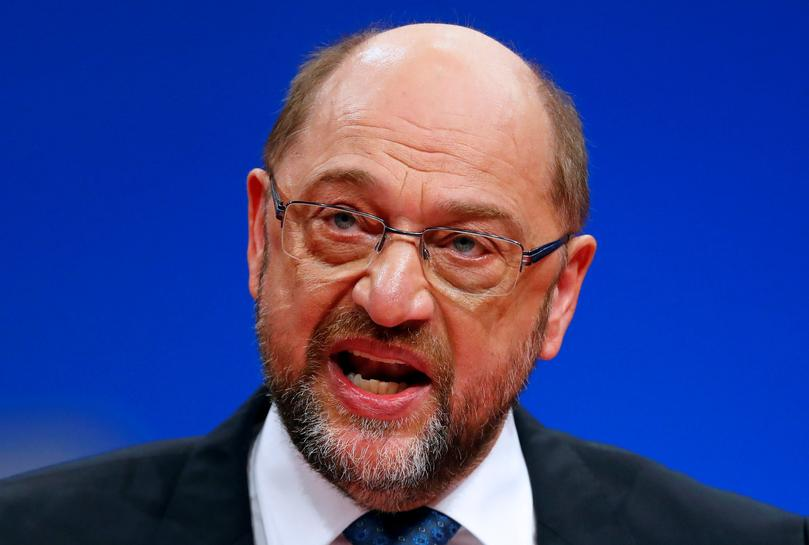 German SPD leader takes aim at U.S. tech giants