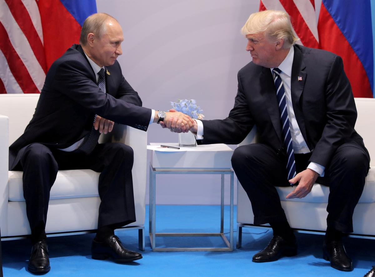 Trump speaks by phone to Russia's Putin: White House