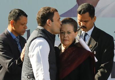 Rahul Gandhi takes charge of Congress