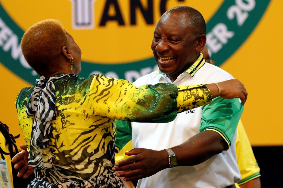 Image result for ANC Elects Ramaphosa As New Head