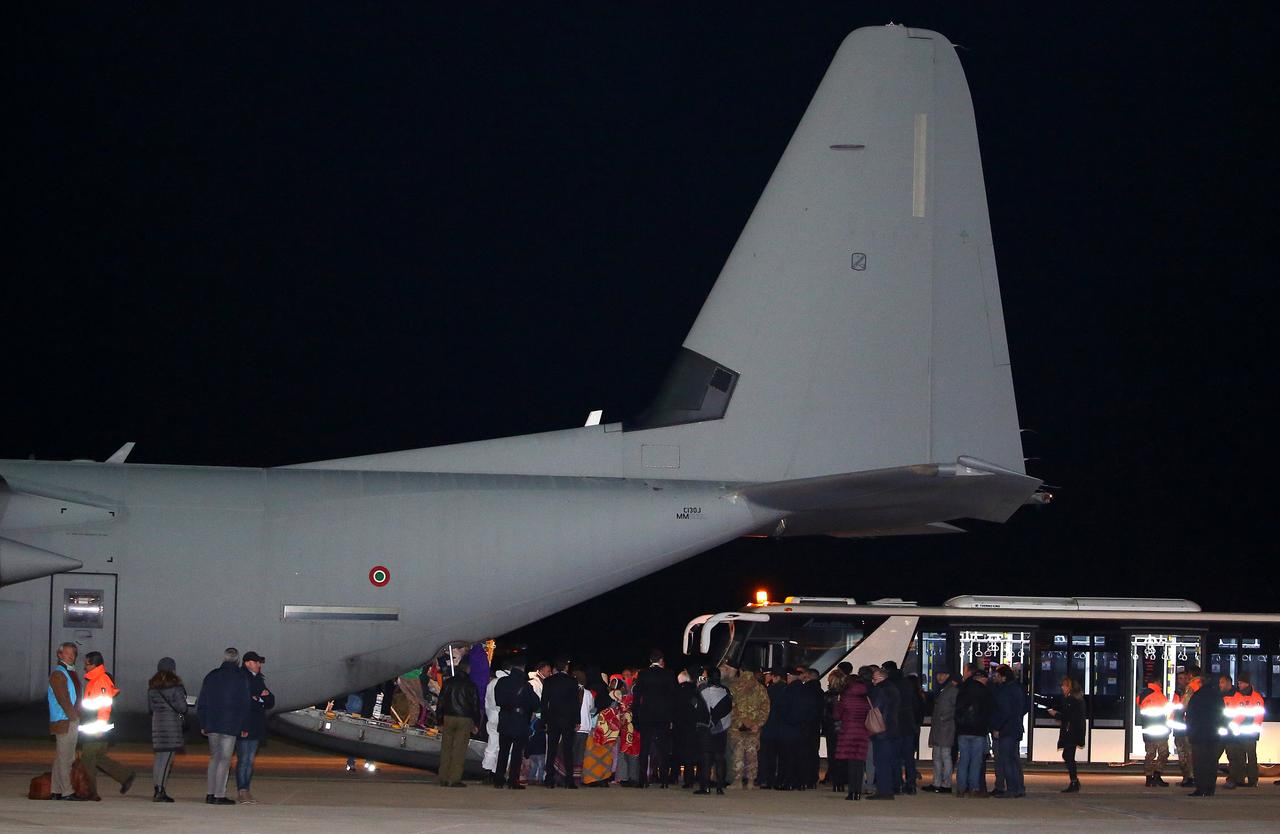 Image result for U.N. evacuates refugees to Italy from Libya for first time