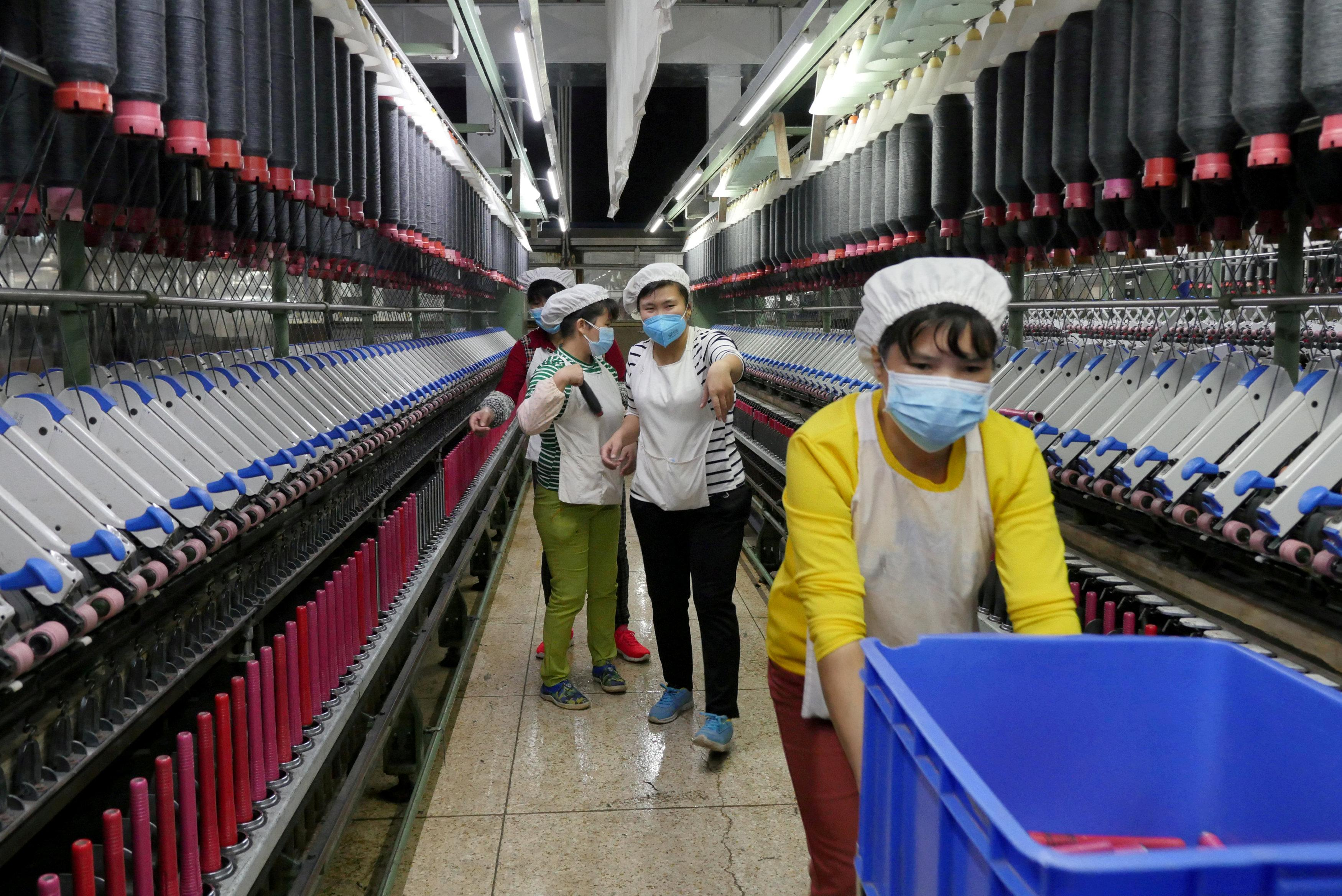 China expects 2018 industrial output to grow around 6 percent
