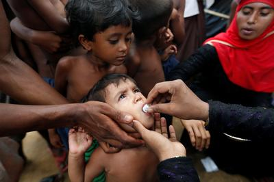 Staving off disease in Rohingya refugee camps