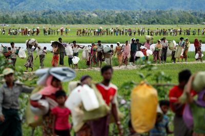 The Rohingya's perilous journey