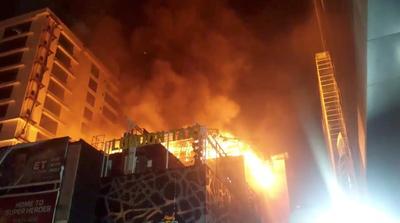 Fire in Mumbai's Kamala Mills