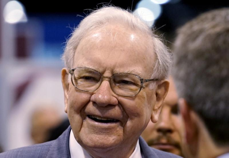 warren buffett proclaims optimism for america s financial future file photo berkshire hathaway ceo warren buffett talks to reporters prior to the berkshire annual meeting in omaha nebraska u s 2 2015
