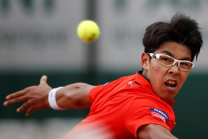 Chung in Asian spotlight after Nishikori absence at Melbourne Park