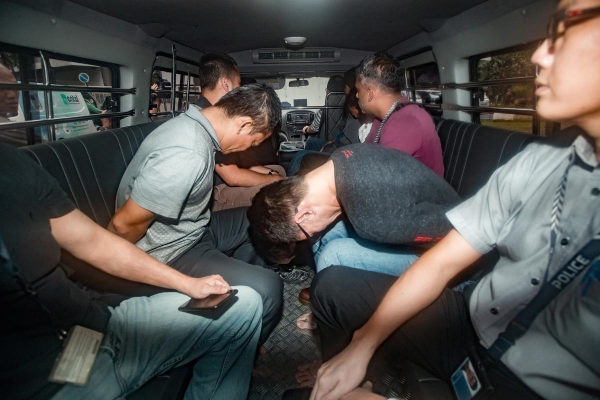 CORRECTED - Singapore charges 3 more suspects in Shell