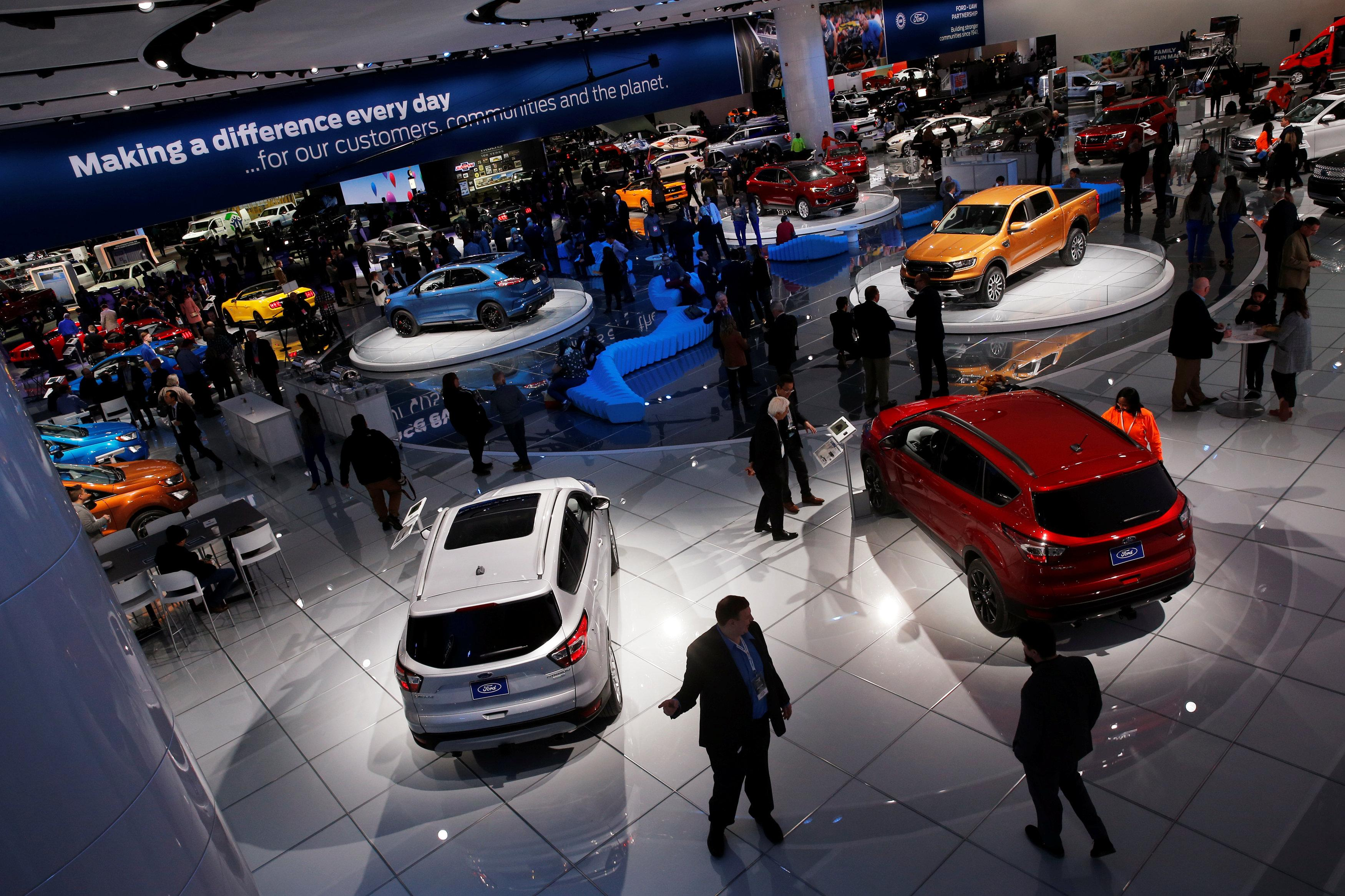 Global Carmakers To Invest At Least Billion In Electric Vehicles - Detroit car show august 2018