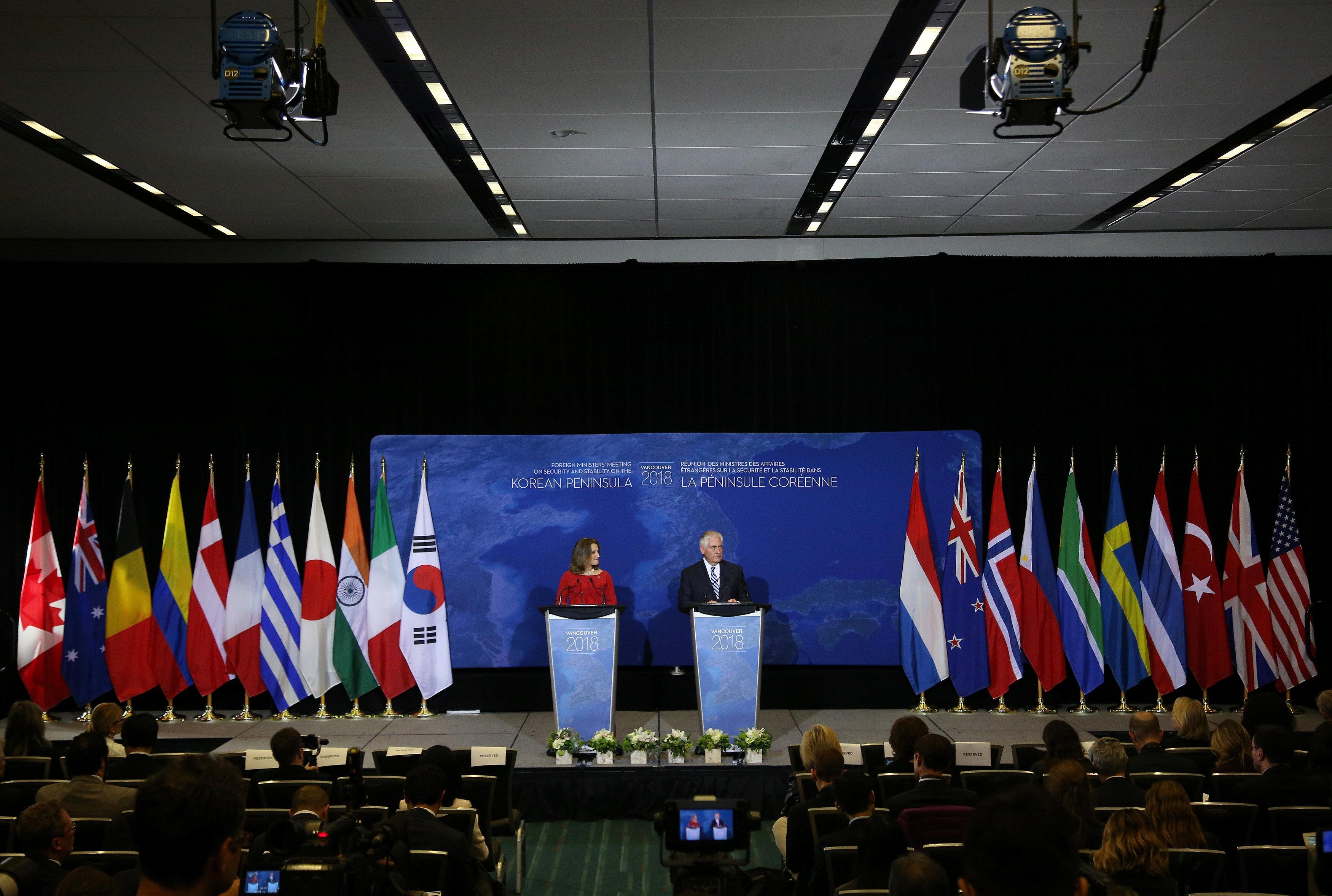 Russia says North Korea summit undermines U.N., aggravates situation