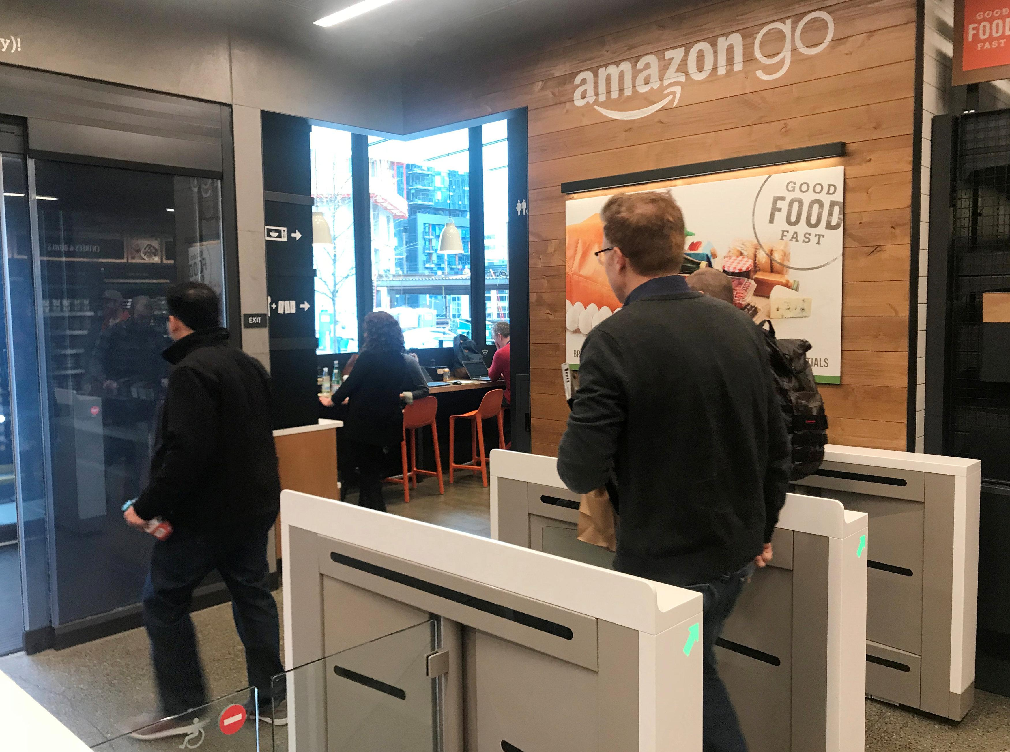 Amazon S Automated Grocery Store Of The Future Opens Monday Reuters