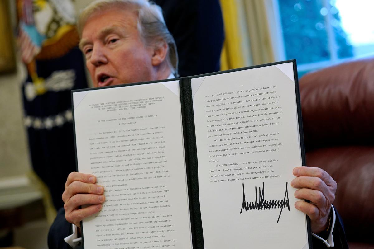Q Amp A Winners Losers Of Trump S Solar Panel Tariff Reuters