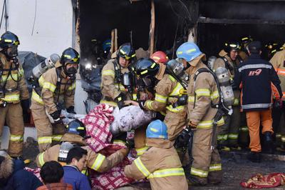 Deadly hospital fire in South Korea