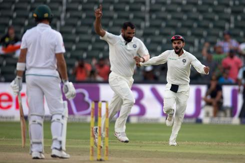 Cricket: India vs South Africa Johannesburg Test